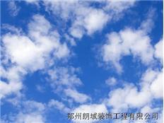 朗域蓝天白云精印膜