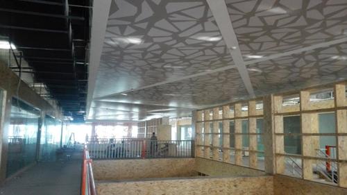 新乡市B2B产业园项目软膜天花项目