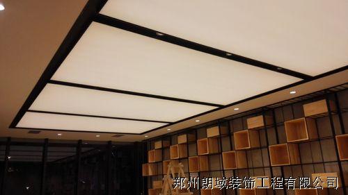 郑州裕华满园售楼部软膜天花项目