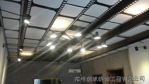 郑东新区地德街三万英尺海鲜餐厅软膜天花