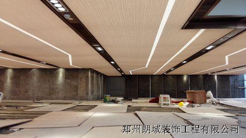 郑州朗域软膜天花万众大厦A级彩霸膜项目